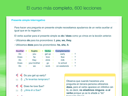 aprender-ingles-con-wlingua for android screenshot