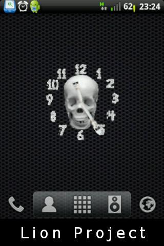 頭骨的時鐘