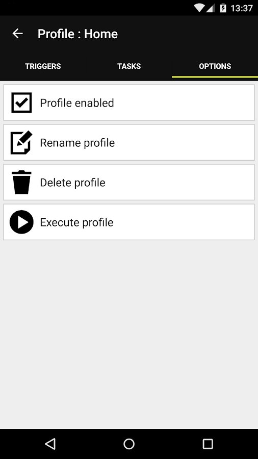 Droid Automation - Pro Edition Screenshot 4