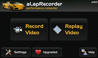 Screenshot of aLapRecorder