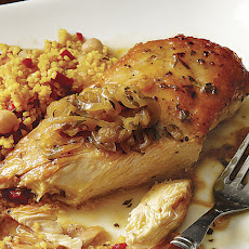 Sear-Roasted Chicken with Orange-Tarragon Sauce