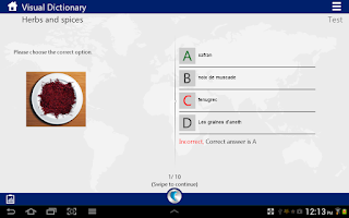 Screenshot of Learn French by WAGmob