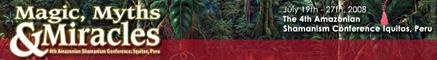 Amazonian Shamanism Conference
