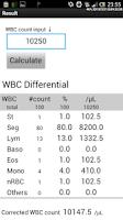Screenshot of WBC Counter