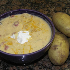 Nacho Potato Soup