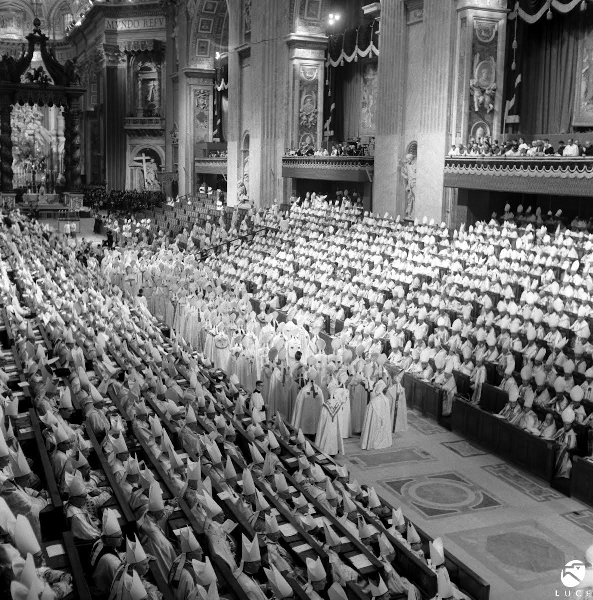 The Vatican Ecumenical Council, inaugurated by Pope John XXIII in 1962, started a fundamental dialogue between the Catholic Church and the secular world.
