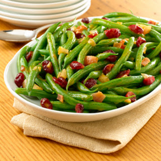 Cranberry-orange Spiced Green Beans