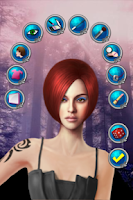 Screenshot of Makeup and Hairdresser