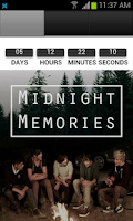 Screenshot of 1D Midnight Memories Album