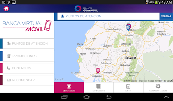 Screenshot of Banca Virtual Móvil