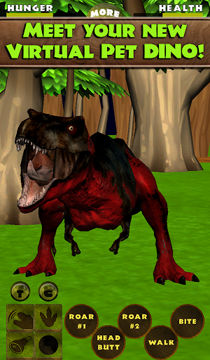 Virtual Pet Dinosaur T. Rex - screenshot