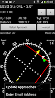 Screenshot of GPS ILS