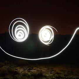by Brian Van Niekerk - Abstract Light Painting