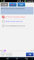 Screenshot of Toeic Test - On Thi Toeic