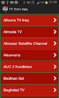 Screenshot of TV from Iraq