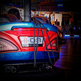 Fair II by Harrie van der Meer - News & Events Entertainment ( car, bumping car, location, bumping, events, event, fun, fair, photography, street photography )