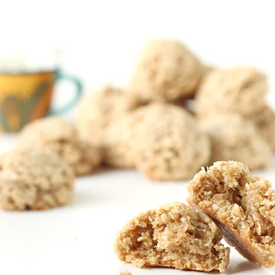 Coconut Oatmeal Whole Wheat Cookies