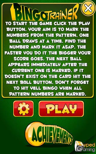 Bingo Trainer