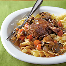 Braised Short Ribs with Egg Noodles