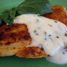 Basil Lemon Butter Cream Sauce