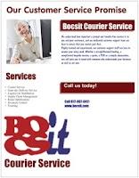Screenshot of Courier Service