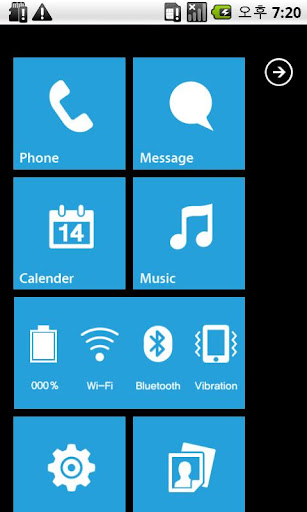 MXHome Windroid7 Theme