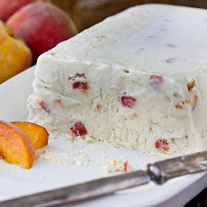 Peaches and Cream Semifreddo