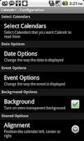 Screenshot of Calendr+