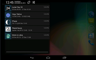 Screenshot of Lunar Calendar
