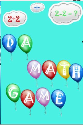 Da Math Game