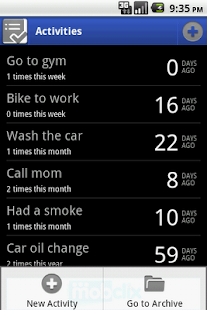 Activity Log - Android Apps on Google Play