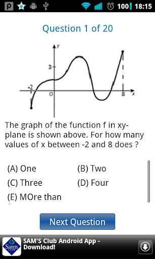 SAT Math Quiz 4