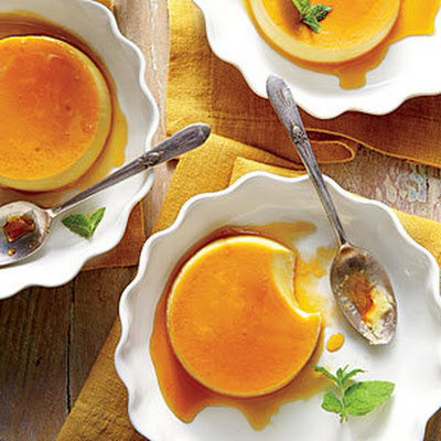 Honey Flans