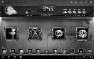 Screenshot of Chromed Lightning Multi Theme