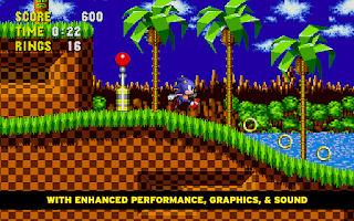 Screenshot of Sonic The Hedgehog