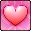 Pink Love Live Wallpaper icon