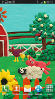 Screenshot of Plasticine Farm Live wallpaper