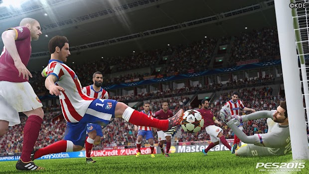 Konami releases a hat-trick of new screens for PES 2015