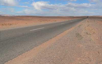 Nel deserto vicino a Merzouga