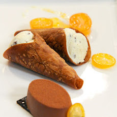 Ricotta-Filled Chocolate Cannoli