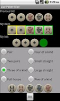Screenshot of Liar Poker Dice