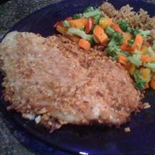Almond and Coconut Crusted Tilapia