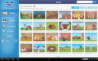 Screenshot of Animated Stories & Songs