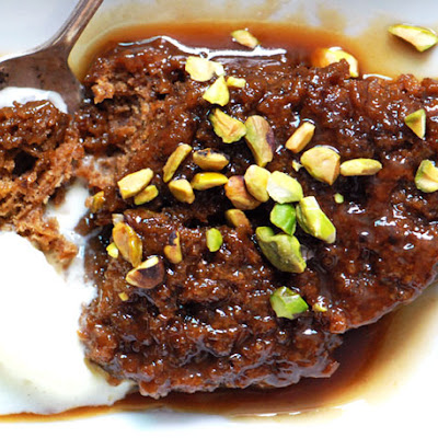 Sticky Toffee Pudding with Port Toffee Sauce