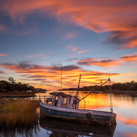 Left Behind by Glenn Taylor - Landscapes Sunsets & Sunrises
