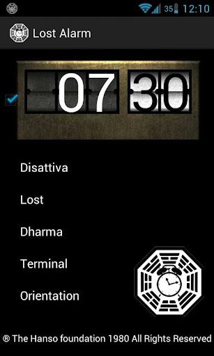 Lost Alarm