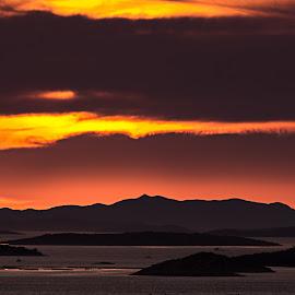 Orange gas by Zvonimir Mihaljek - Landscapes Sunsets & Sunrises