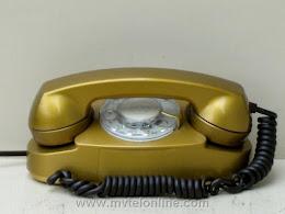 Desk Phones - Western Electric 701B Gold Princess 1