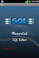 Screenshot of SQL Tutorial/Editor