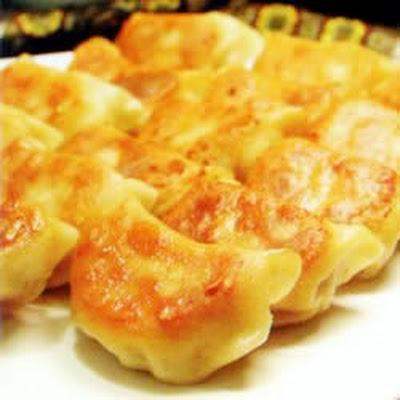 Chinese Jiaozi (Potsticker dumplings)
